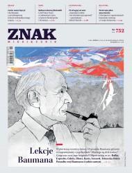 okładka Miesięcznik Znak nr 752: Lekcje Baumana. Ebook | EPUB,MOBI | autor zbiorowy