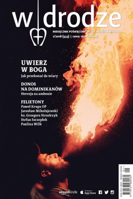 okładka miesięcznik W drodze nr 1/2018, Ebook | opracowanie zbiorowe W drodze