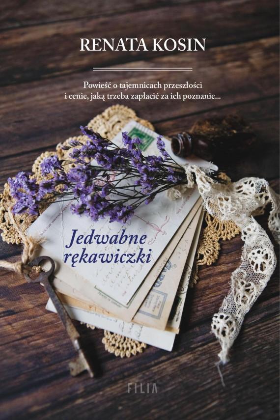 okładka Jedwabne rękawiczki. Ebook | EPUB, MOBI | Renata Kosin