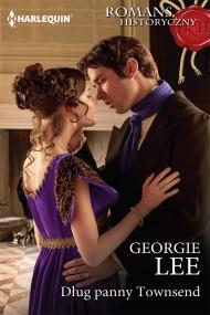 okładka Dług panny Townsend. Ebook | EPUB,MOBI | Georgie Lee