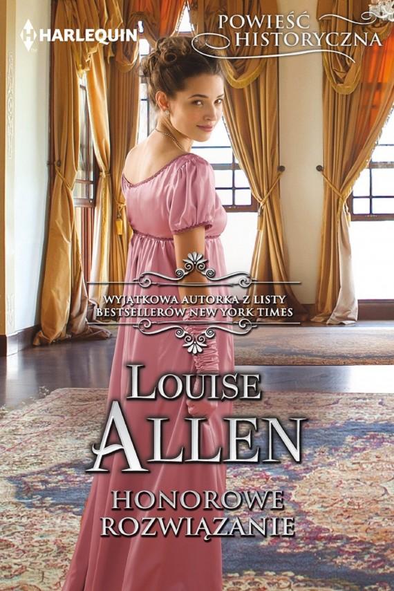 okładka Honorowe rozwiązanie. Ebook | EPUB, MOBI | Louise Allen