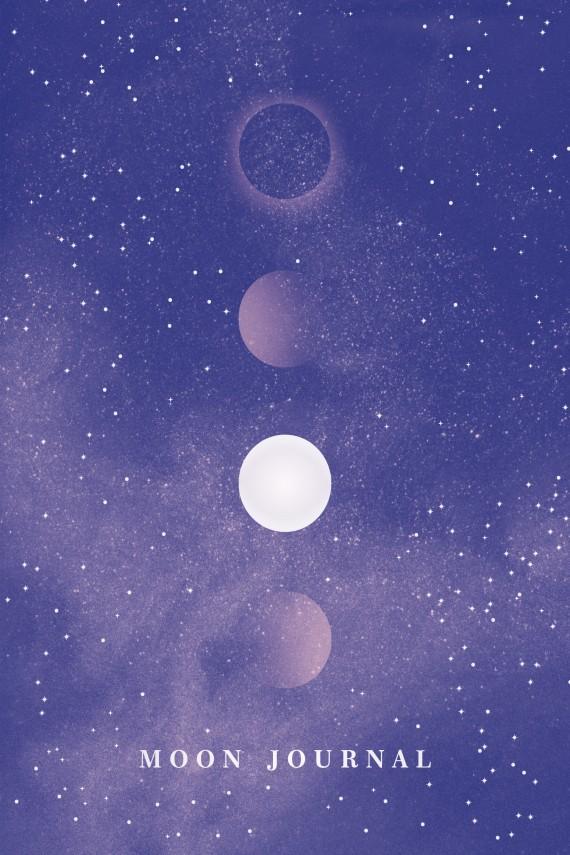 okładka Moon Journalebook   PDF   Sandra Sitron