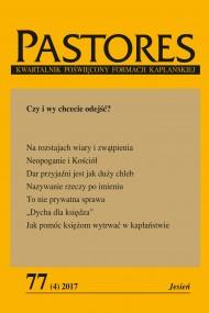 okładka Pastores 77 (4) 2017, Ebook   Zespół Redakcyjny