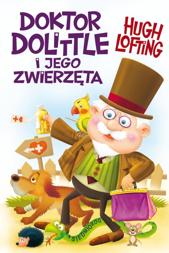 okładka Doktor Dolittle i jego zwierzętaebook | EPUB, MOBI | Hugh Lofting