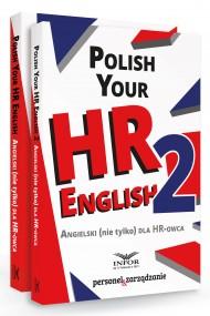okładka Polish your HR English. Angielski (nie tylko) dla HR-owca-PAKIET częć I i II. Ebook | papier | Praca zbiorowa