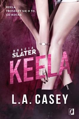 okładka Bracia Slater. Keela, Ebook | L. A.  Casey
