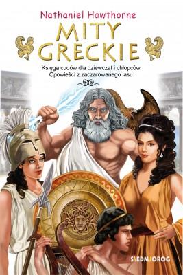 okładka Mity greckie, Ebook | Nathaniel  Hawthorne