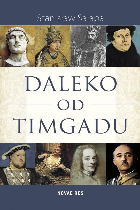 okładka Daleko od Timgaduebook | EPUB, MOBI | Stanisław  Sałapa