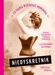 okładka Niedyskretnik. Ebook | papier | Jolanta Sawicka, Therese Oneill