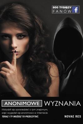 okładka Anonimowe Wyznania, Ebook   Anonimowe Wyznania