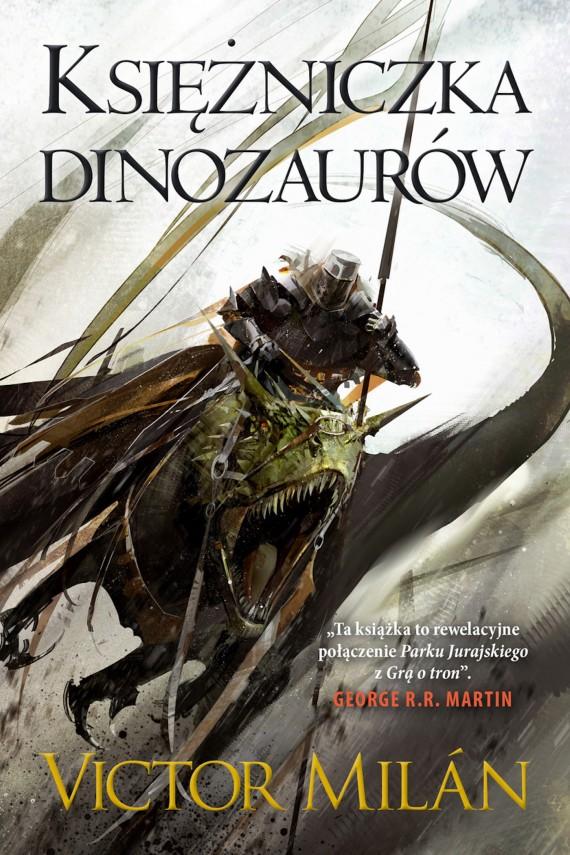 okładka Księżniczka dinozaurówebook | EPUB, MOBI | Michał Jakuszewski, Victor  Milan