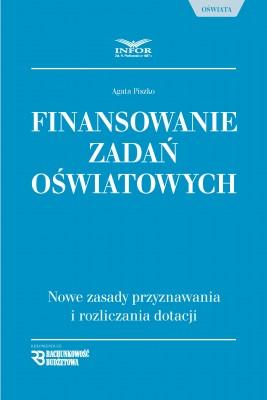 okładka Finansowanie zadań oświatowych, Ebook | Agata Piszko