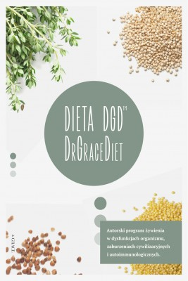 okładka DIETA DGD (DrGraceDiet), Ebook | Agnieszka Pająk, Dr Grażyna Pająk (drGRACE)