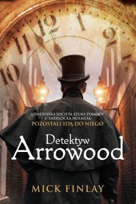 okładka Detektyw Arrowood, Ebook | Mick Finlay