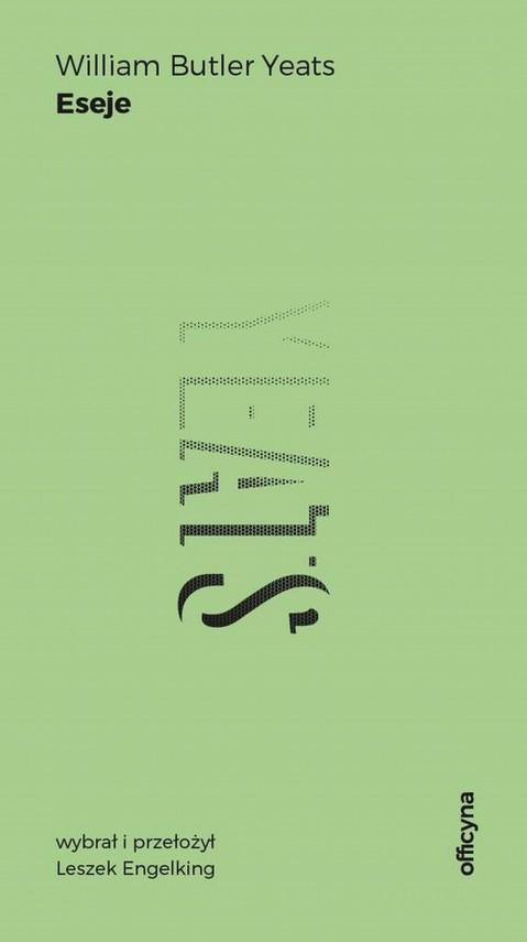 okładka Esejeebook | EPUB, MOBI | William Butler Yeats