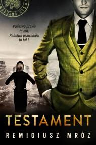 okładka Testament. Ebook | papier | Remigiusz Mróz