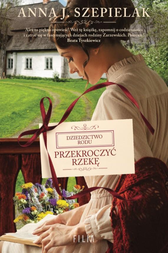 okładka Przekroczyć rzekę. Ebook | EPUB, MOBI | Anna J. Szepielak