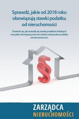 okładka Nowe stawki podatku od nieruchomości 2018, Ebook   Praca Zbiorowa