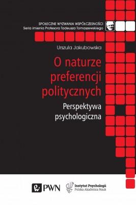okładka O naturze preferencji politycznych, Ebook | Urszula  Jakubowska