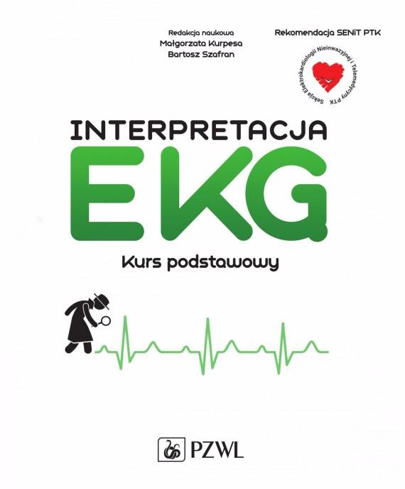 okładka Interpretacja EKGebook | EPUB, MOBI | Bartosz  Szafran, Małgorzata  Kurpesa