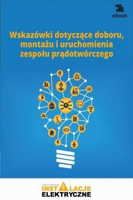 okładka Wskazówki dotyczące doboru, montażu i uruchomienia zespołu prądotwórczego, Ebook | Praca zbiorowa