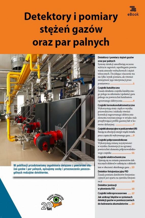 okładka Detektory i pomiary stężeń gazów oraz par palnychebook   PDF   Praca zbiorowa