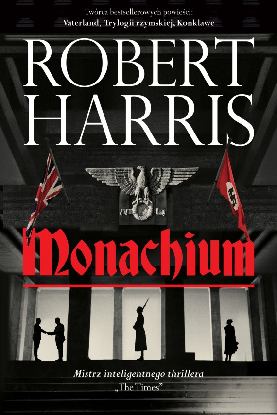 okładka Monachium. Ebook | EPUB, MOBI | Robert Harris