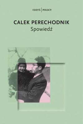okładka Spowiedź, Ebook | Calek Perechodnik