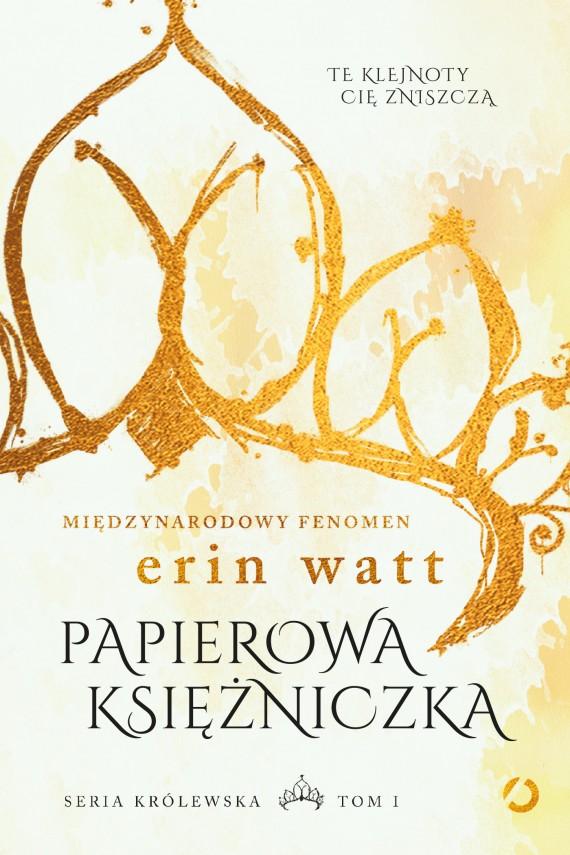 okładka Papierowa księżniczkaebook | EPUB, MOBI | Erin Watt