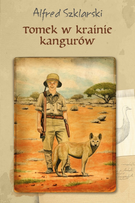 okładka Tomek w krainie kangurów (t.1). Ebook | EPUB, MOBI | Alfred Szklarski