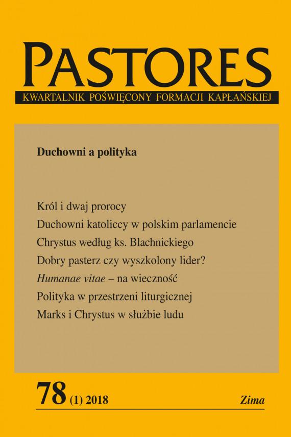 okładka Pastores 78 (1) 2018. Ebook | EPUB, MOBI | Zespół Redakcyjny