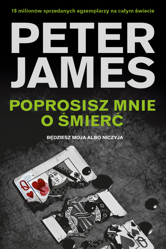 okładka Poprosisz mnie o śmierćebook | EPUB, MOBI | Peter James