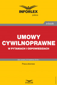 okładka Umowy cywilnoprawne w pytaniach i odpowiedziach, Ebook | Praca zbiorowa