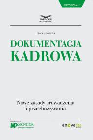 okładka Dokumentacja kadrowa., Ebook | Praca zbiorowa