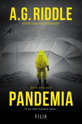 okładka Pandemia, Ebook   A.G. Riddle