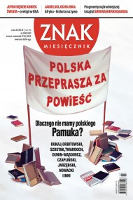 okładka Miesięcznik Znak - lipiec-sierpień 2012. Ebook | EPUB,MOBI | autor zbiorowy