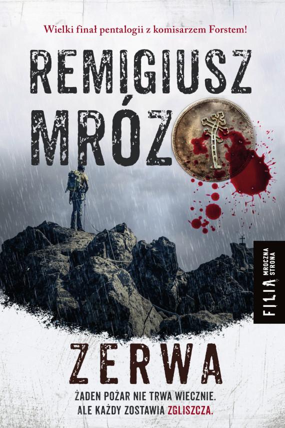 okładka Zerwa. Ebook | EPUB, MOBI | Remigiusz Mróz