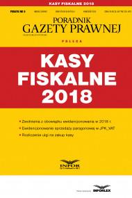 okładka Kasy fiskalne 2018. Ebook | papier | Praca zbiorowa