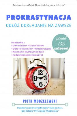 okładka Prokrastynacja, Ebook | Piotr Modzelewski