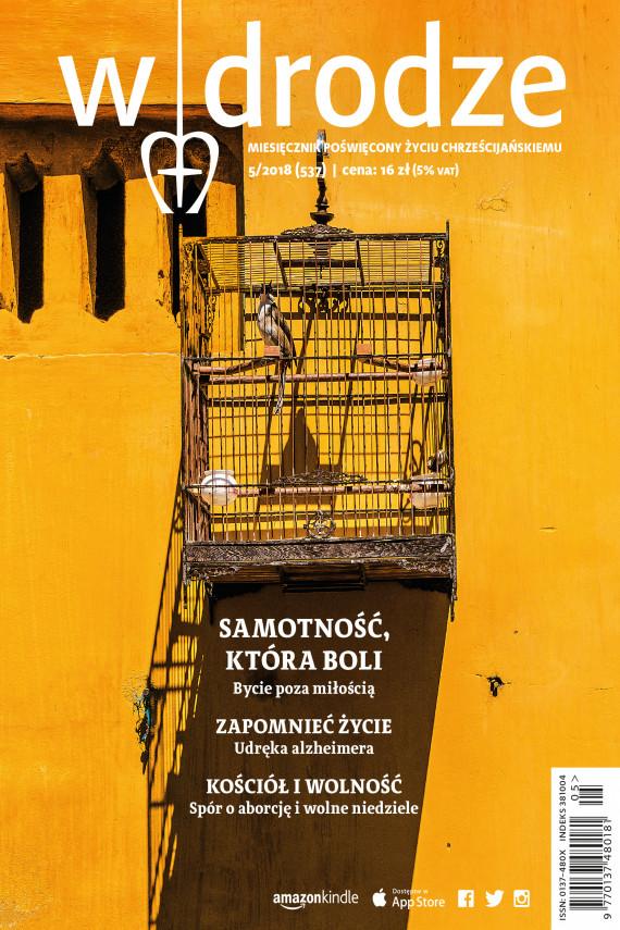 okładka miesięcznik W drodze nr 5/2018. Ebook | EPUB, MOBI | Opracowanie zbiorowe