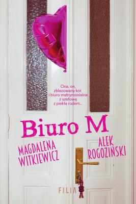 okładka Biuro M, Ebook | Magdalena Witkiewicz, Alek Rogoziński