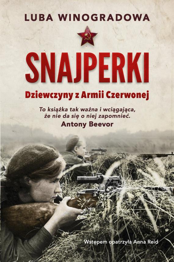okładka Snajperkiebook | EPUB, MOBI | Luba Winogradowa