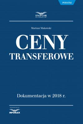 okładka Ceny transferowe, Ebook   Mariusz Makowski