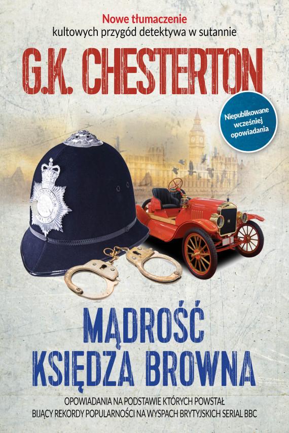 okładka Mądrość księdza Browna. Ebook | EPUB, MOBI | Gilbert Keith  Chesterton, Magda Sobolewska