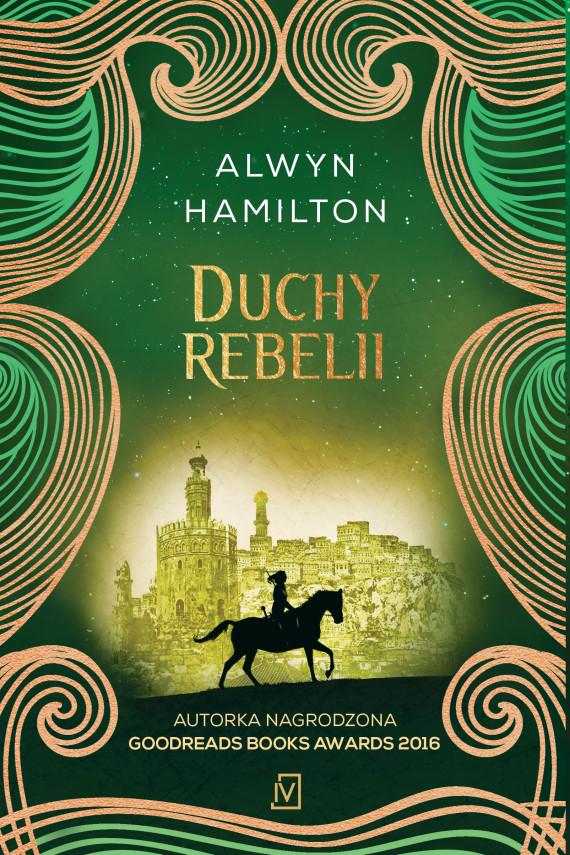 okładka Duchy rebelii. Ebook | EPUB, MOBI | Alwyn  Hamilton