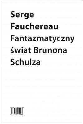 okładka Fantazmatyczny świat Brunona Schulza, Ebook | Serge Fauchereau