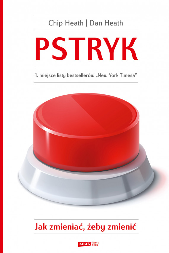 okładka Pstryk!ebook | EPUB, MOBI | Chip Heath, Dan Heath
