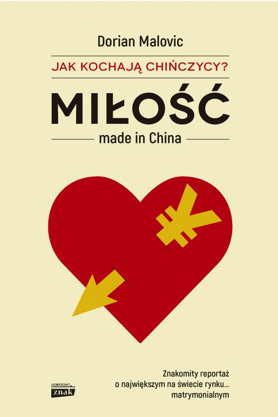 okładka Miłość made in China. Ebook | EPUB, MOBI | Malovic Dorian