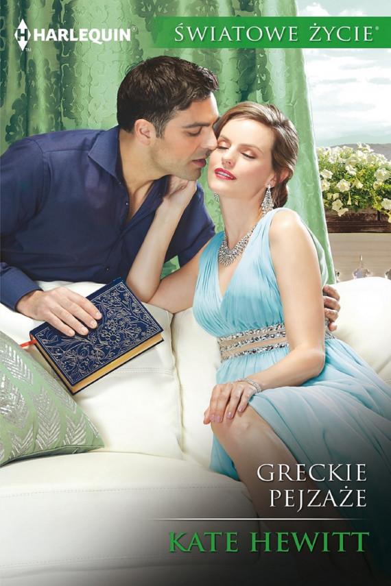 okładka Greckie pejzażeebook | EPUB, MOBI | Kate Hewitt