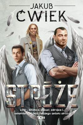 okładka Stróże, Ebook | Jakub Ćwiek